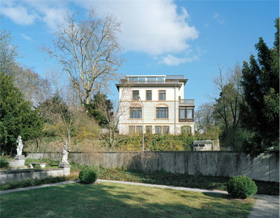 Instandsetzung, An- und Umbau Doppelvilla Aubrigstrasse, Zürich (ZH)