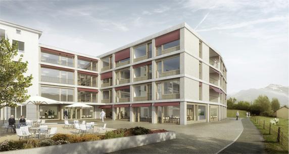 Erweiterung Alters- und Pflegeheim Schönau, Kaltbrunn (SG)