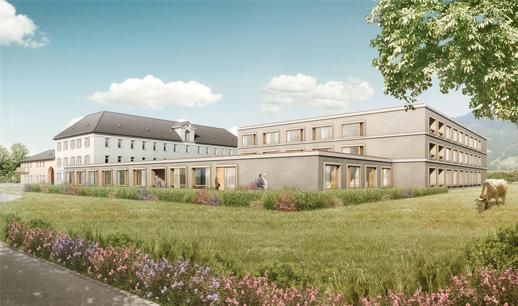 Sanierung und Erweiterung Alters- und Pflegeheim Neugut, Landquart (GR)