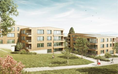 Wohnüberbauung, Mühlau (AG)