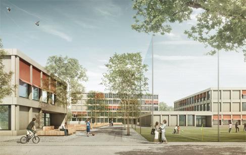 Schulhaus Schlieren West, Schlieren (ZH)